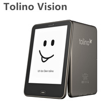 Built In Light Tolino Vision e book Touch e-ink 6 inch HD 1024x758 eBook Reader 4GB WiFi Frontlight Without Original Box