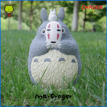 Mr.Froger Studio Ghibli Totoro Toy Action Figures Piggy Bank Money Hayao Miyazaki Spirited Away No Face Man My Neighbor Totoro