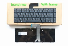 Brand New laptop keyboard For DELL Inspiron 14R N4110 N4050 M4040 N5050 M5050 M5040 N5040  Service  version BLACK
