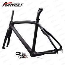 China factory disc road carbon frame Chinese BSA bottom bracket carbon frames 3k weave carbon road frame(China)