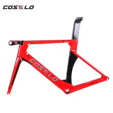 2018 Costelo AEROMACHINE Monocoque carbon fiber road bike frame bicycle bicicleta frame bicycle frame 50 52 54 56(China)