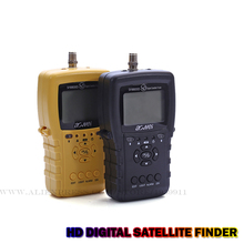 Original precision Satellite Finder satellite meter  Selectable Ku/C-band Satellite Finder Mete Support DVBS2 / DVBS finder