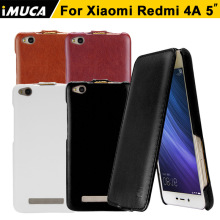 iMUCA Case for Xiaomi Redmi 4A Case Cover Flip Leather Phone Cases for Xiaomi Redmi 4A Back Cover Coque Xiaomi Redmi 4A Funda