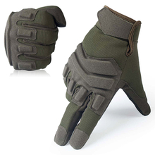 Touch Screen Tactical Gloves Military Airsoft Paintball Army Combat Shooting Rubber Knuckles Full Finger Gloves(China)