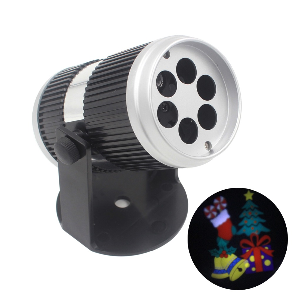 AC90-240V 4W Rotating LED Laser Stage Projector LED Spotlight Sound Activated Jingle Bell Pattern for Party DJ KTV Pub Bar Xmas<br><br>Aliexpress