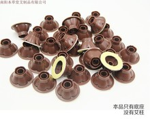 500PCS Manufacturers wholesale aa post shaped transparent base base moxibustion moxibustion base with aprons