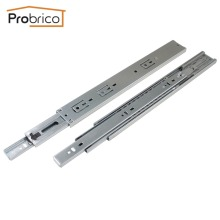 "Probrico 1 Pair 14"" Soft Close Ball Bearing Drawer Rail Heavy Duty Rear/Side Mount Kitchen Furniture Drawer Slide DSHH32-14A(China)"