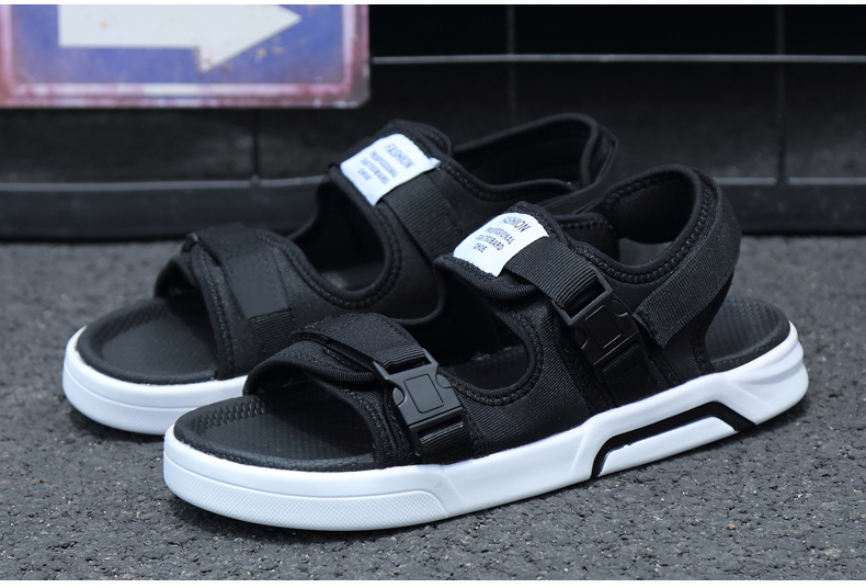 YRRFUOT Summer Big Size Fashion Men's Sandals Outdoor Hot Sale Trend Man Beach Shoes High Quality Non-slip Adult Flats Shoes 46 42 Online shopping Bangladesh