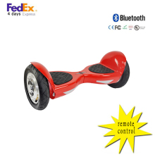 China Dropship Romote Control  hoverboard 10 inch  smart balance electric scooter skateboard Bluetooth