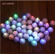 LED light for light up balloon,led light ball can put into balloon,100pcs/lot