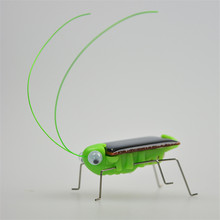 Mini Kit Novelty Kid Solar Energy Powered Spider Cockroach Power Robot Bug Grasshopper Early Educational Gadget Toy For Children