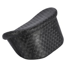 Durable Black PVC Hairdressing Washing Neck Rest General Shampoo Bowl Pillow Neck Relaxed Cushion For Salon Hair Spa Wash Sink