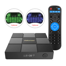 Dolamee D6 Android 6.0 TV Box Amlogic S905X Quad Core 1GB DDR3 8GB Flash Kodi 16.1 2.4G WiFi HDMI 4K*2K Set Top Box Media Player