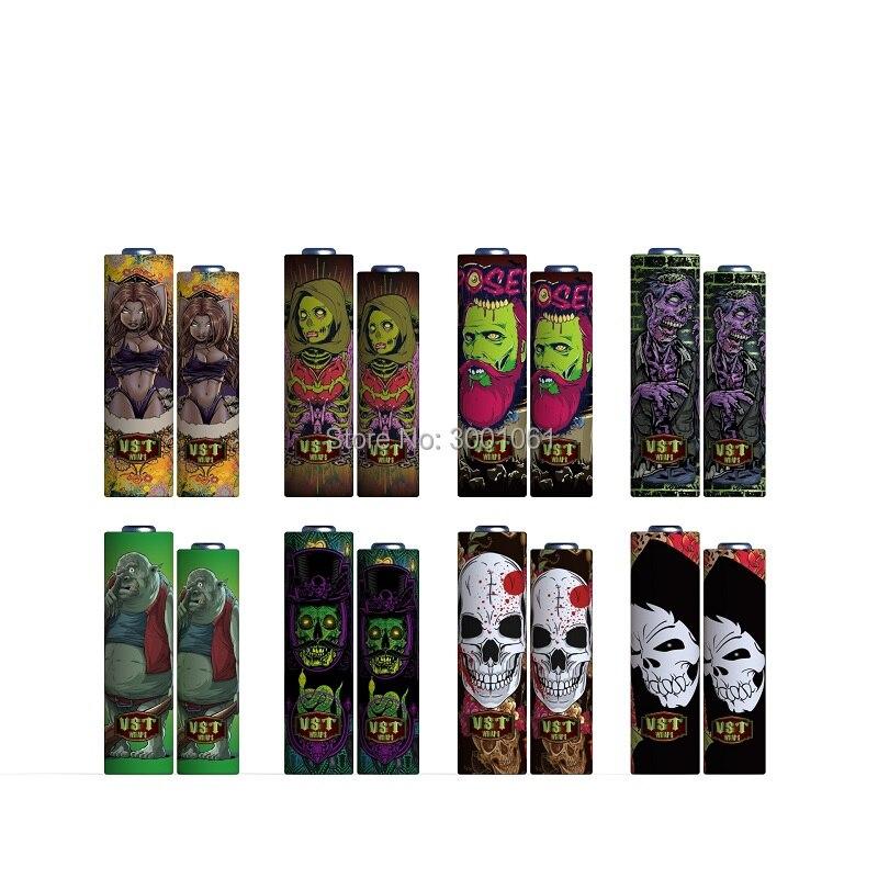 Zombie battery wraps (6)