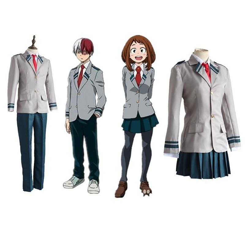 My Boku No Hero Academia Todoroki Shouto Costume Cosplay Uniforms School Suit