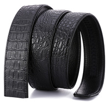 Buy High luxury buckle belt mens fashion Crocodile Grain designer genuine leather Waist Strap Automatic buckle Upscale for $9.27 in AliExpress store