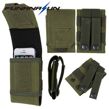 """Tactical Phone Belt Pouch Molle Waist Bag Pack Cellphone Smartphone Pouch iPhone 6 6S 7 Plus Galaxy Note 5.5"""""""