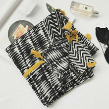 hot sale zebra print scarf/scarves with tassels soft warm women shawl pattern muslim wraps big pashmina fashion muffler hot sale(China)