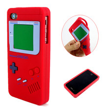 For iPhone 4 4G 4S Game Boy Design Style Soft Silicone Rubber Skin Cover Case For iPhone 4 4G 4S Cover Phone Cases(China)