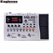 NUX MG-20 Guitar Modeling Processor Drum Pattern Switch Pedal Solo, tapo, Delay(Hong Kong)