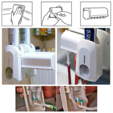 New Arrive Automatic Toothpaste Dispenser and Brush Holder Touch