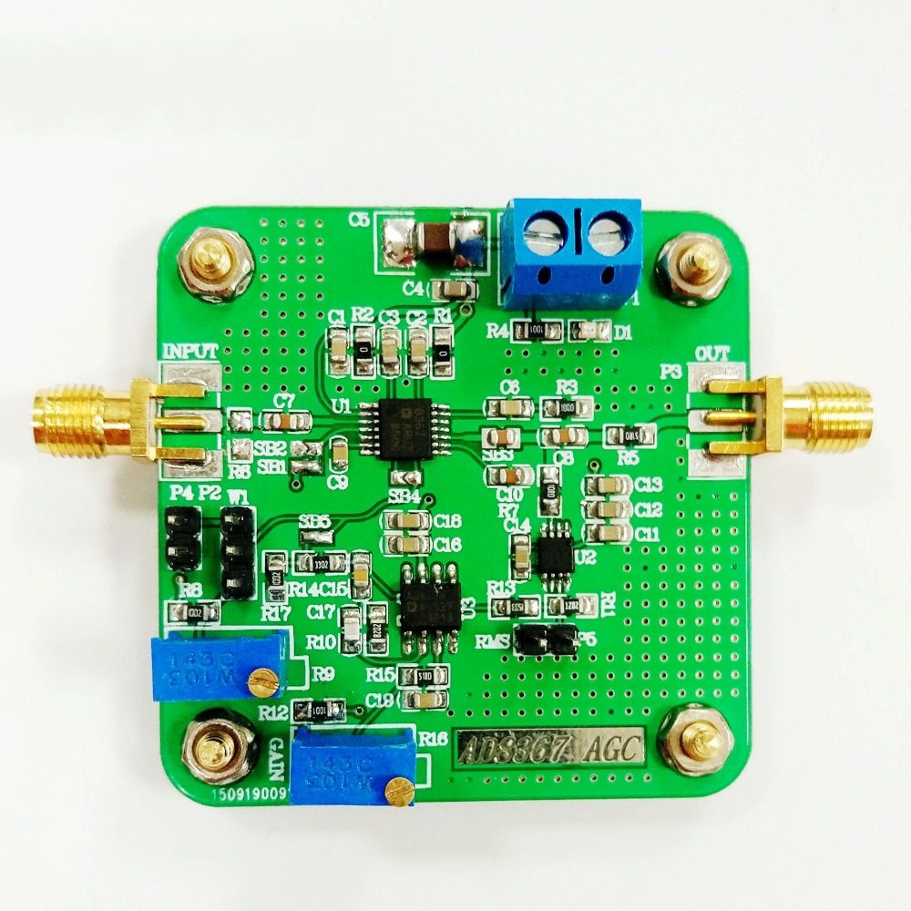 AD8367 AGC voltage gain of the variable gain amplifier module broadband detector<br>