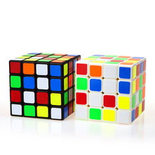 4x4x4 Educational Professional Racing Puzzle Cube Children Puzzle Play Toys Zappeln Magic Neo Cube Rubiks Magnetic Spinner Cubes
