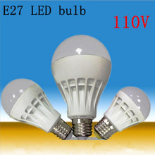 Sell well High Power SMD5730 5W 110V E27 LED Lamp Replace 30W halogen lamp e27 led LED Bulb warranty 3 years360 Beam Angle(China)