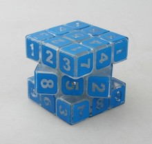 figure pattern magical cube one pcs per price selling intellectual toy(China)