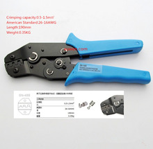 SN-48B MINI EUROP STYLE crimping tool crimping plier 0.5-1.5mm2 multi tool tools hands BLUE(China)