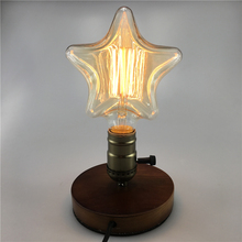 Buy 40W Classical Vintage Retro Edison Light E27 Filament Twinkle Star Shape Edison Vintage Bulb AC110V/220V Antique Edison Bulb for $6.36 in AliExpress store