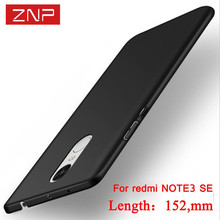 ZNP Luxury Hard Plastic Case for Xiaomi Redmi Note 3 Pro Prime SE Special Edition Global Version 152MM For Redmi Note 3 Pro case
