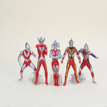 anime hot toys Ultraman 5pcs/set Action figure free shipping