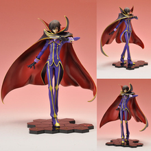 Anime Code Geass Lelouch of The Rebellion Lelouch Lamperouge Action Figure Toys Collectibke Mode Toy(China)