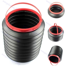 Bucket Folding Collapsible Fishing Water Pail Storage Box Trash Container In Car MAY8(China)