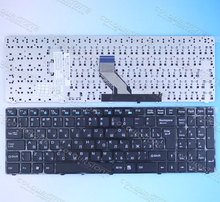 RUSSIA Laptop keyboard for DNS 0157894 0157896 0157899 0157900 0164780 ECS MT50 MT50II1 MT50IN RU Black keyboard  MP-09Q36SU-360
