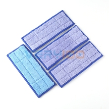 NEW 4Pcs Washable Wet & Dry Mopping Pads Replacment Damp for iRobot Braava Jet 240