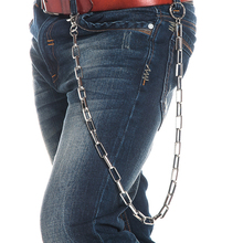 Hiphip Punk 2016 Personality Metal Waist Chain Hip Hip Street Dancing Punk Alloy Plating Pant Trousers Chains