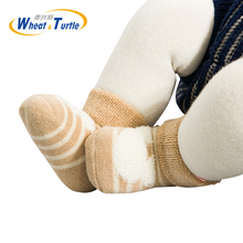Buy Mother Kids Baby Clothing Socks Leg Warmers Socks 3Pairs/Lot cotton Thicken Warm Unisex Newborn Baby Anti-slip Floor Socks for $4.48 in AliExpress store
