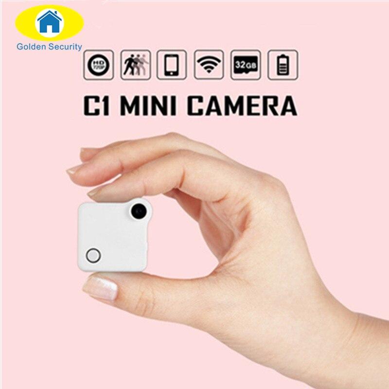 Golden Security 720p Wireless Mini HD WIFI Wearable IP Camera Versatile Small Motion Detector Powerful Sport Surveillance Camera<br>