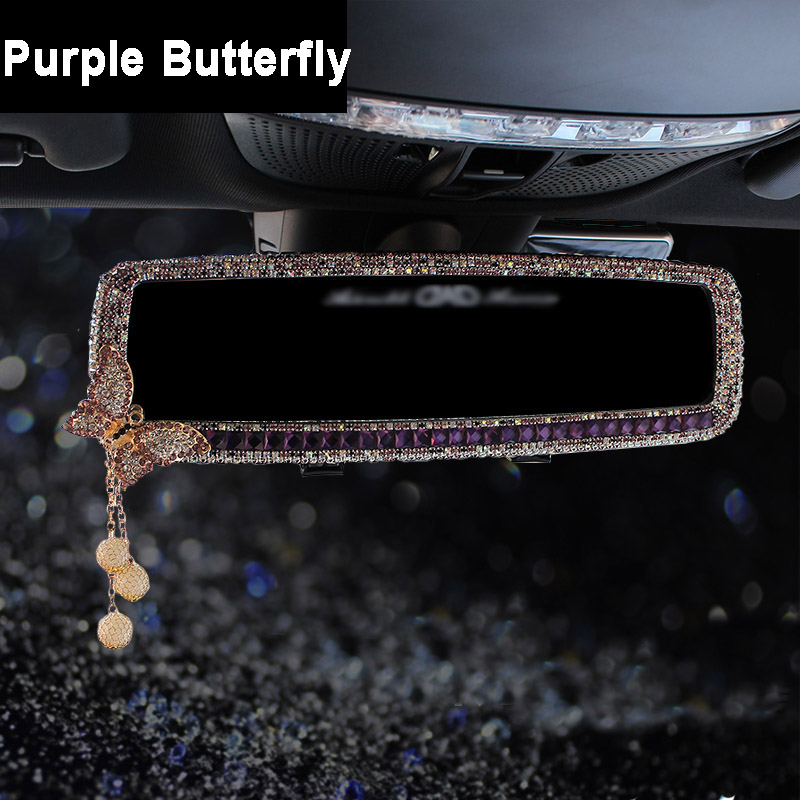 1pcs-Car-Interior-Mirror-Crystal-Decoration-Diamond-Butterfly-Rearview-Mirror-Bling-for-Girls-Woman-2