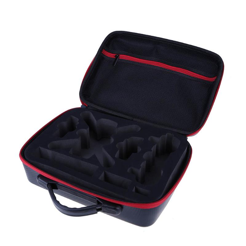 Alloet Waterproof Portable Carrying Case Storage Handbag for DJI Spark Drone Premium Handle Shoulder Bag with high capacity