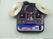 6 channel 6 IN 1 G4+PX+Fly+XTR+FMS Flight Simulator handle Simulator emulator(China)