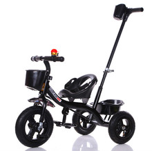 Children tricycle baby bike 1-6 years old carts shock absorber wear child self stroller