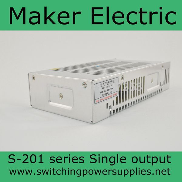 switching power suply 13.5v 14.7a  201w ac to dc power supply ac dc converter high quality S-201-13.5<br>