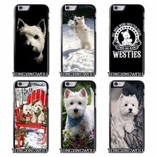 Westie dog Cover Case for Sony Z1 Z2 Z3 E5 Z5 Compact C3 C4 C5 M2 M4 T3 X XA XZ Performance huawei P8 P9 Lite