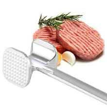 Hight Quality! 19.5cm Two Sides Aluminum Meat Hammer Mallet Beef Chicken Steak Beefs Porks Cozinha Cozinhar Cooking Tools(China)