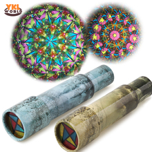 Buy 3 Segments Large Extendable Rotating Kaleidoscope 27cm Adjustable Length Fancy Colorful World Children Autism Kid Toy -48 for $4.50 in AliExpress store