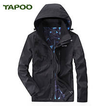 TAPOO Men's Coat Skin Jacket Windbreaker Mens Brand Simple Fashion Waterproof Windproof Ultra Thin Quick Dry Jacket Coat Mens725(China)