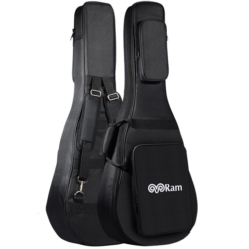 Upgrade style thick water-proof ballad guitar bag,34 inch travel double shoulder strap guitar bags multi-pocket<br>